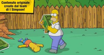 "Giochi Iphone gratis - ""I Simpson: Springfield"""
