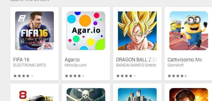 Games Festival sconti giochi Android fino all'85%
