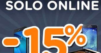 Unieuro sconti 15% smartphone e accessori