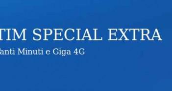 TIM SPECIAL EXTRA 1000 minuti e 3 GB a 10 euro