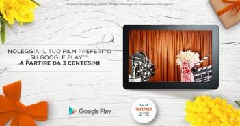 Wind offerta noleggio film a 3 centesimi