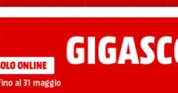 GigaSconti online su MediaWorld fino al 31 maggio