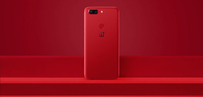one plus 5t red