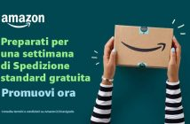 Amazon promo spedizione gratis